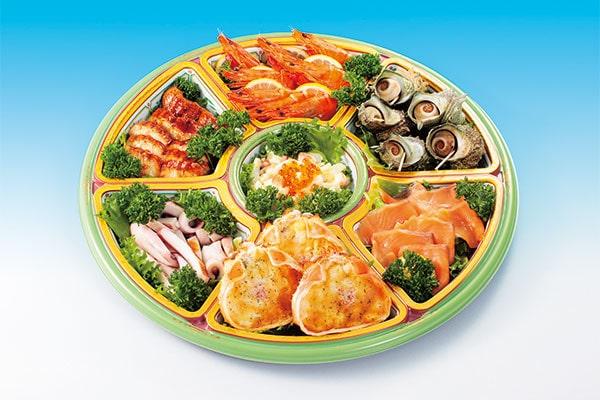 お魚屋さんの海鮮オードブル