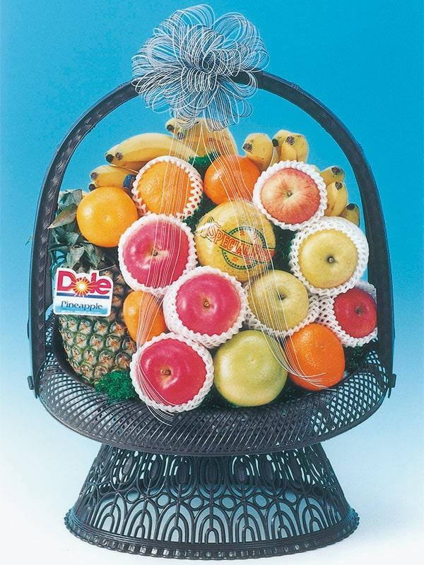 仏事用フルーツ盛りかご(小)