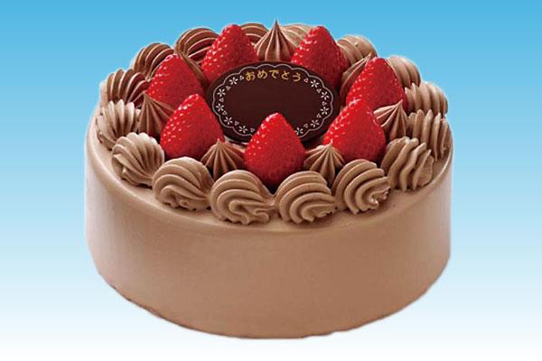 お祝いケーキ 生チョコ6号